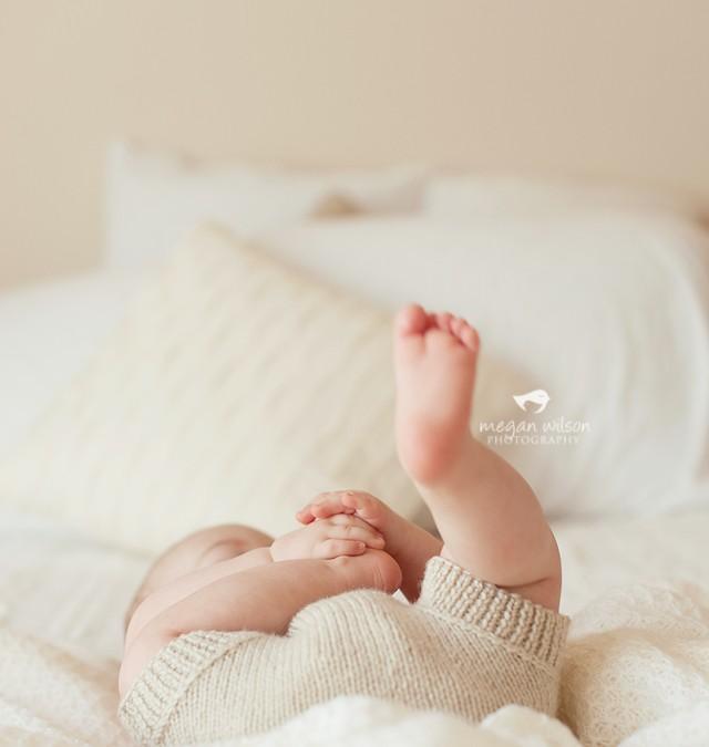 Clyde : 8 months – {Marietta Baby Photography}