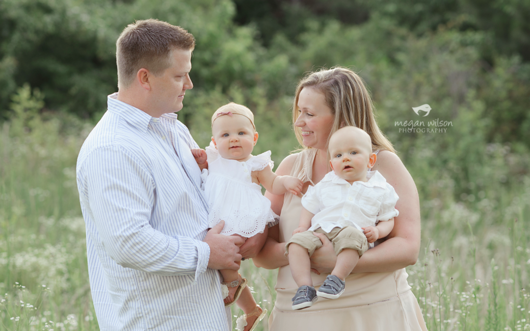 6 months times 2! – {Marietta Woodstock Twin Baby Photographer}