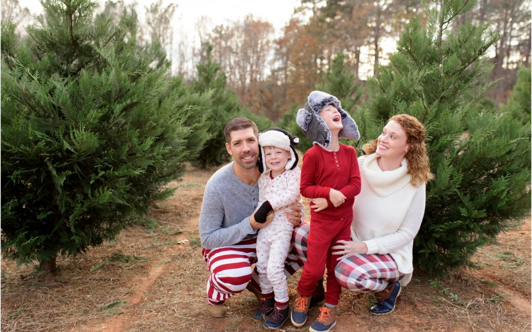 The Perfect Tree | Milton Georgia Family Photography